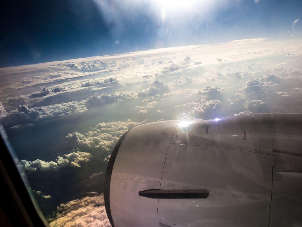 Photo in Landscape #clouds #plain #sky
