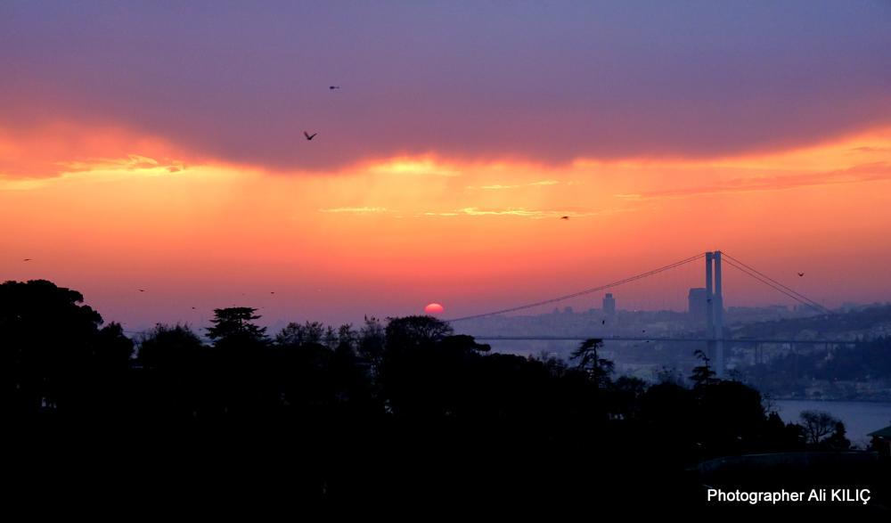 Photo in Landscape #çengelköy'den gün batımı