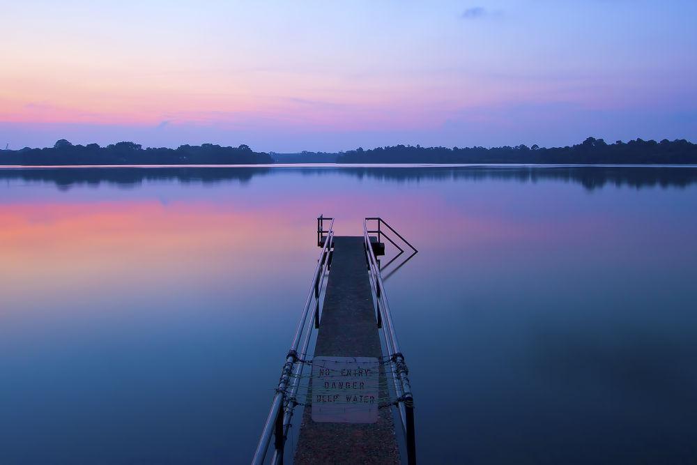Photo in Landscape #landscape #dusk #park #serenity #reflection #color #nature #waterscape #ypa2013