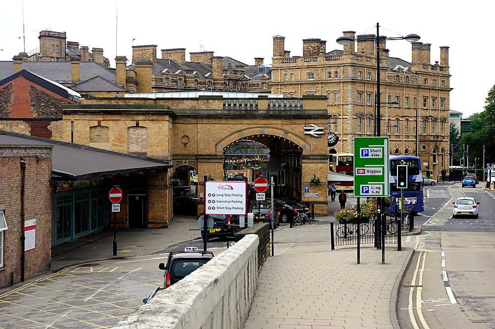 Photo in Street Photography #york #main line station #the entrance #yorkshire #architecture