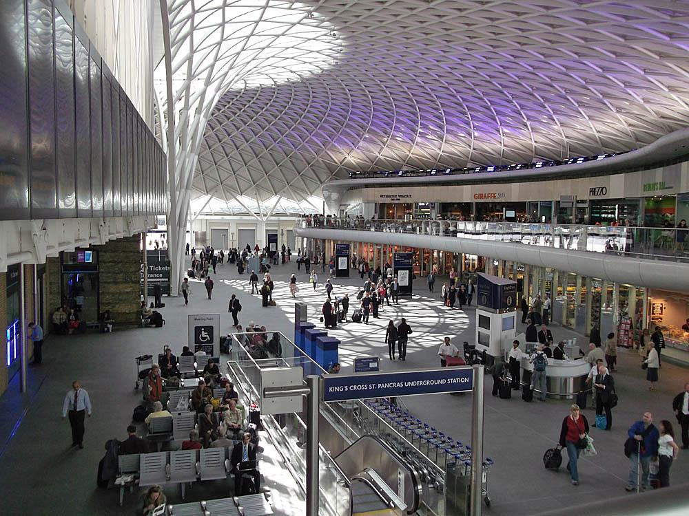 Photo in Interior #london #kings cross station #new concourse #architecture