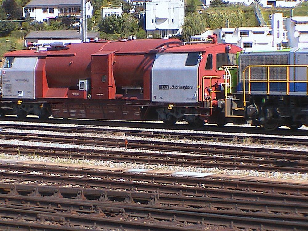 Photo in Vehicle #switzerland #brig sidings #unpowered fire tanker
