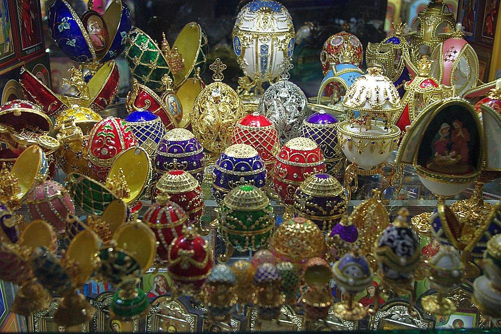 Photo in Fine Art #p & o cruise #'aurora' #baltic #st petersburg #russia #fabergé eggs #store display