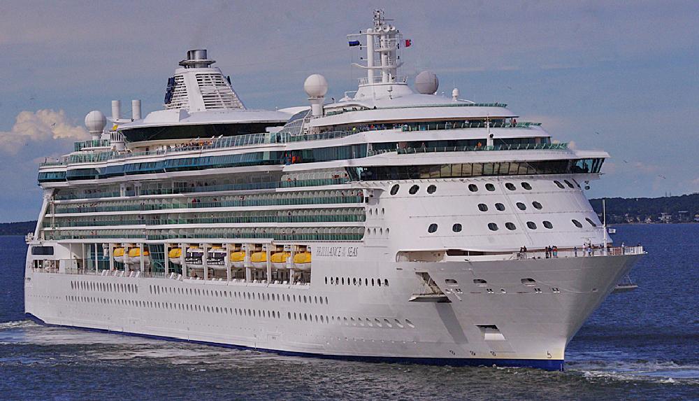 Photo in Travel #p & o cruise #'aurora' #baltic #tallinn #estonia #cruise ship #'brilliance of the seas'