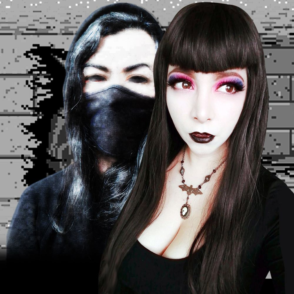 Photo in Random #experimental #horror #witch house #weird #duo #humanfobia