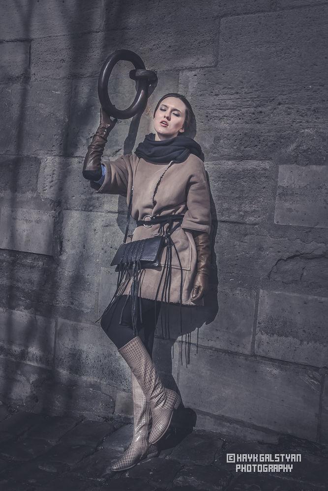 Photo in Fashion #girls' minds in dark #france #paris #parisian #model #russ #girl #dark atmosphere #hayk galstyan photography