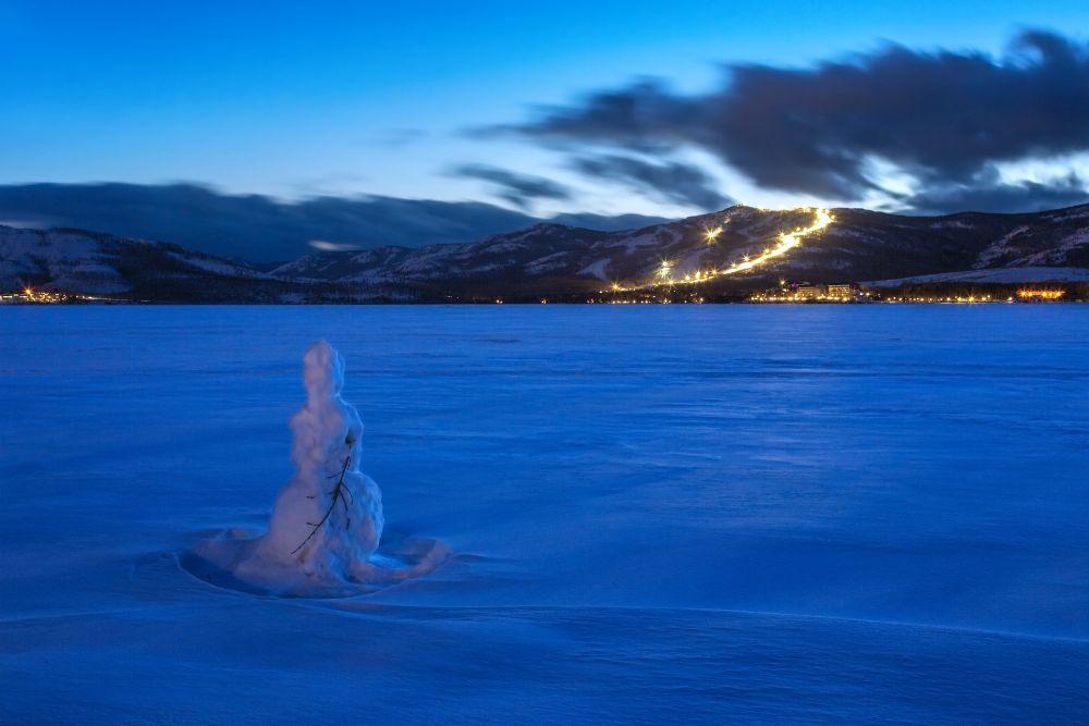 Photo in Landscape #снеговик #банное #глц #урал #башкирия