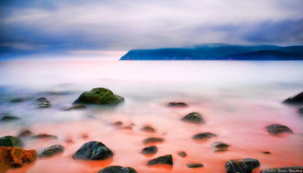 Photo in Landscape #atlantic #beach #sea #ocean #nova scotia #cape smoky #cabot trail #insonish #cape breton #smoky #cape