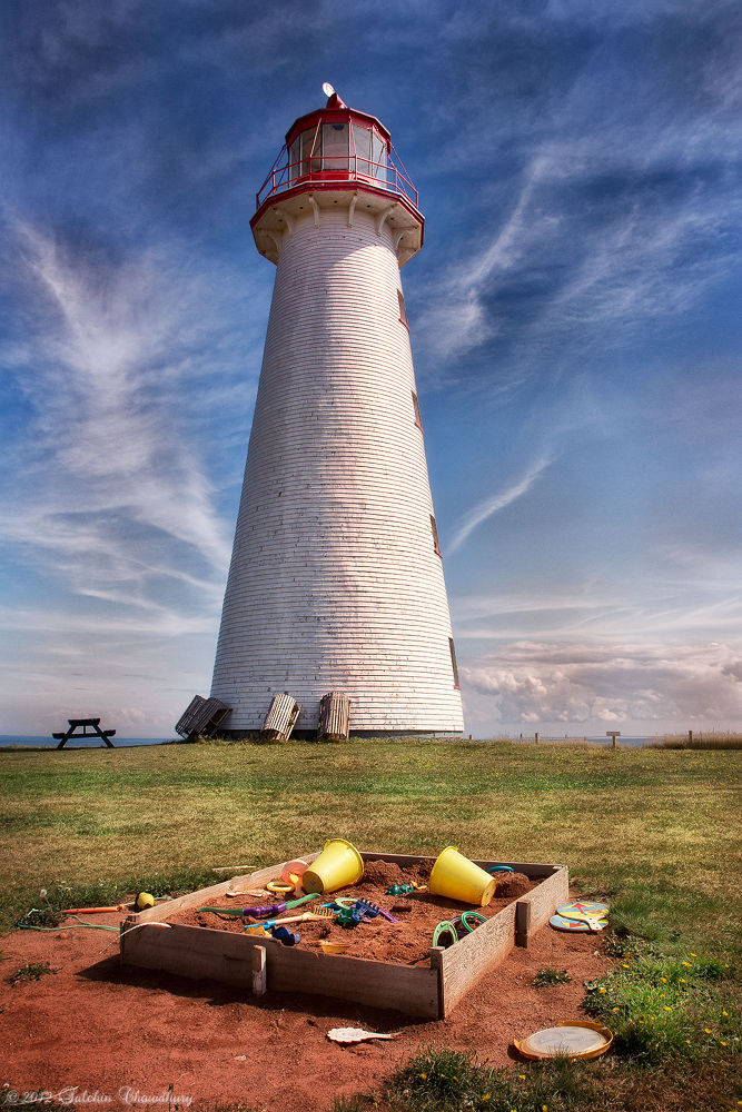 Photo in Travel #point prim #lighthouse #pei #sky #travel