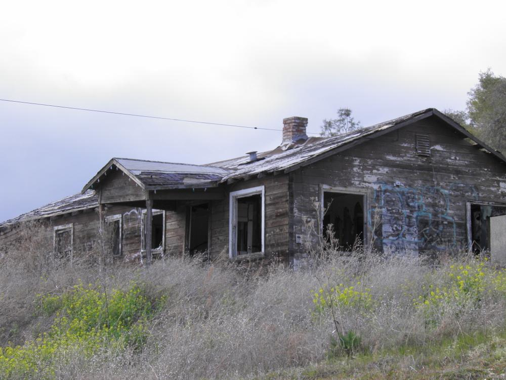 Photo in Landscape #abandoned house