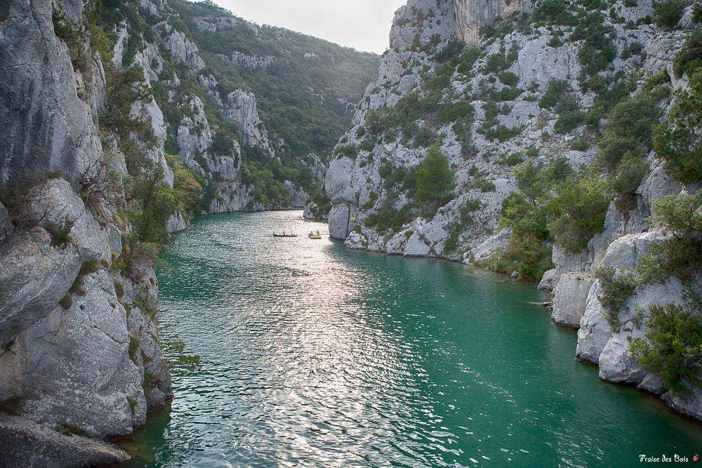 Photo in Landscape #water #montain #green #landscape #gorges du verdon