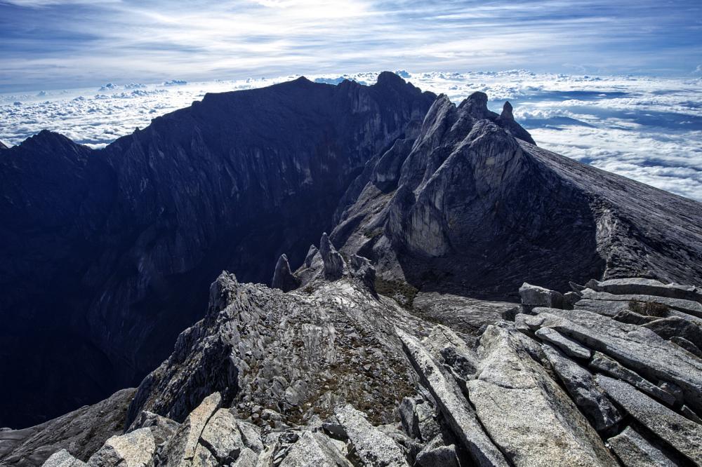 Photo in Landscape #mount kinabalu #sabah #mountain #borneo #rock #sea highest peak
