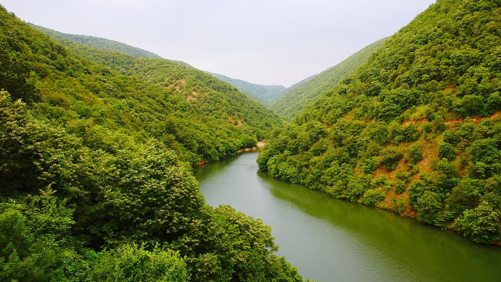 Photo in Landscape #river #iron gates #danube