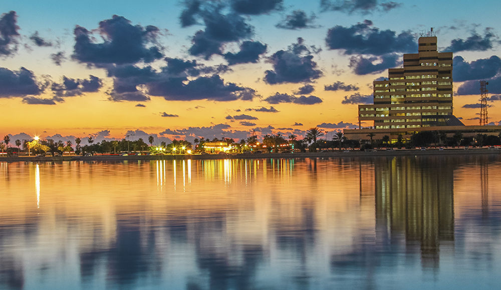 Photo in Landscape #city #libya #benghazi #lake #sea #sky
