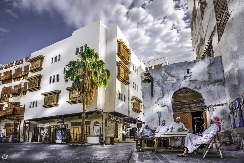 Photo in Architecture #people's lives #old city #architecture #jeddah #ksa