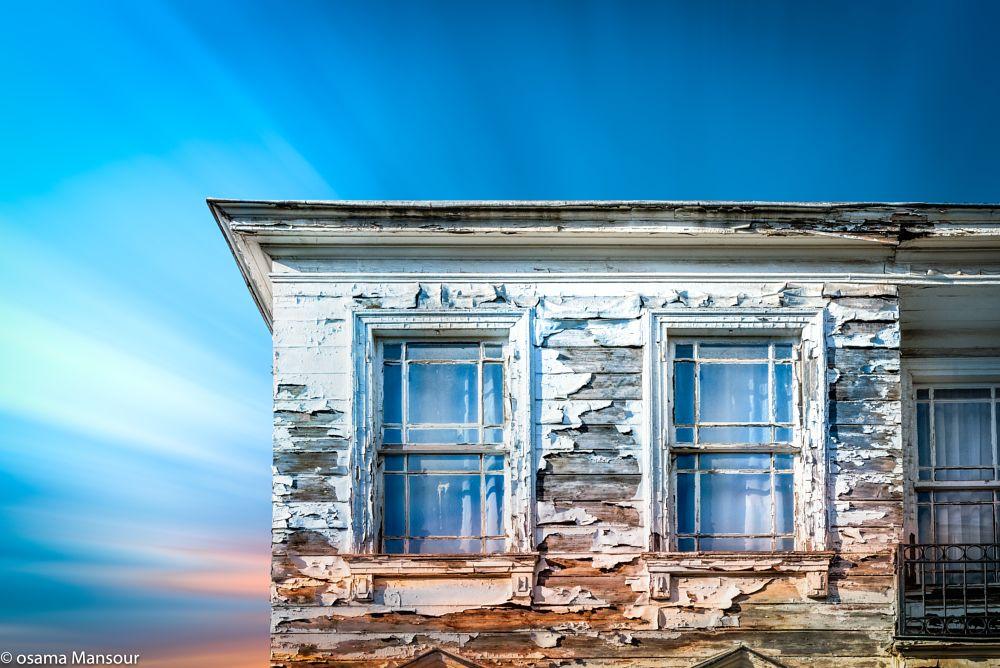 Photo in Architecture #architecture #window #clouds