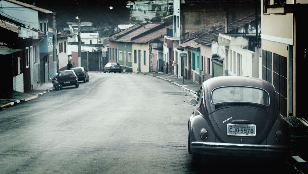 Photo in Street Photography #urban #car #beetle #oldcar #melancholic