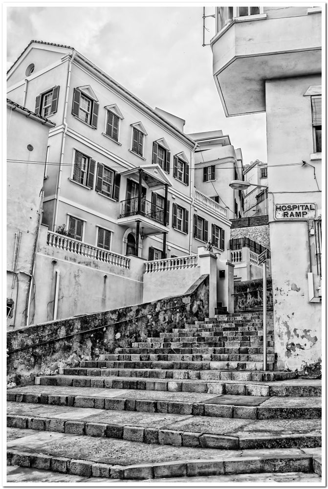 Photo in Architecture #gibraltar #castle street #upper town