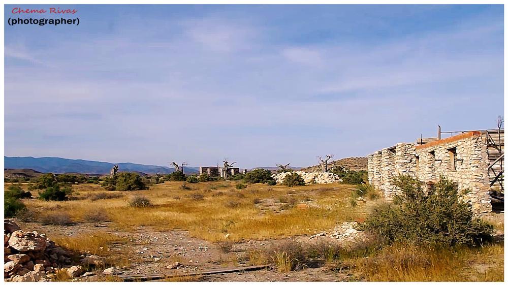 Photo in Landscape #paisaje en el desierto #desierto de tabernas #tabernas #almería #spain #españa