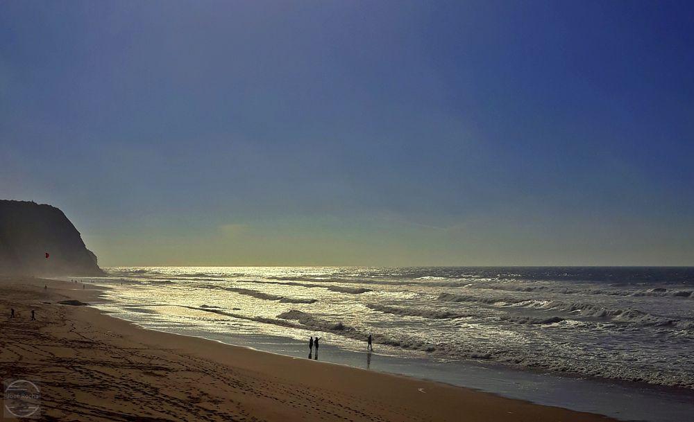 Photo in Sea and Sand #sea #sand #waves #people #beach