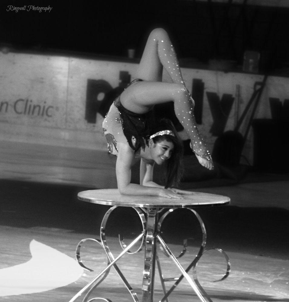 Photo in Random #circuss #blackandwhite #flexable