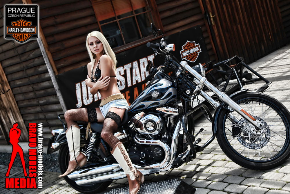 Photo in Random #lea #tyron #lea tyron #sexy #girl #bikes #babes
