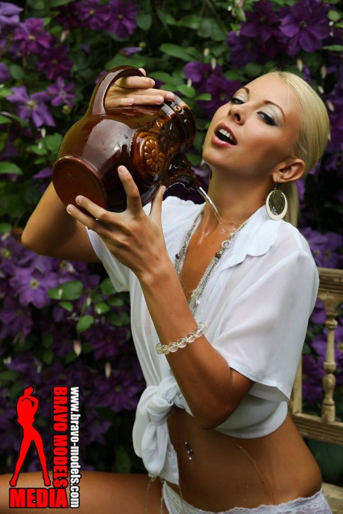 Photo in Fashion #lea tyron #sexy blonde #cute blonde #wet body #sexy body #hot girl