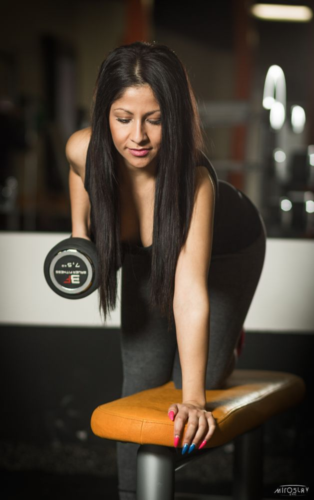 Photo in Sports #fitnes #gym #woman #sexi