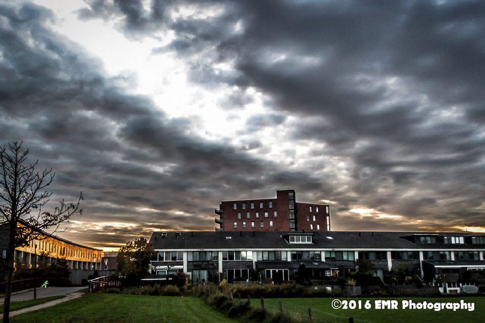 Photo in Landscape #heerhugowaard #nederland #wolken