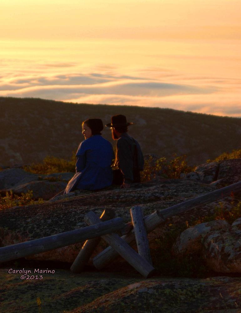 Photo in Random #people #sunrise