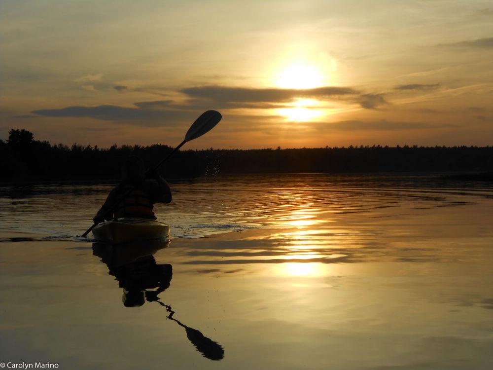 Photo in Random #nature #sunset #boat #emotion