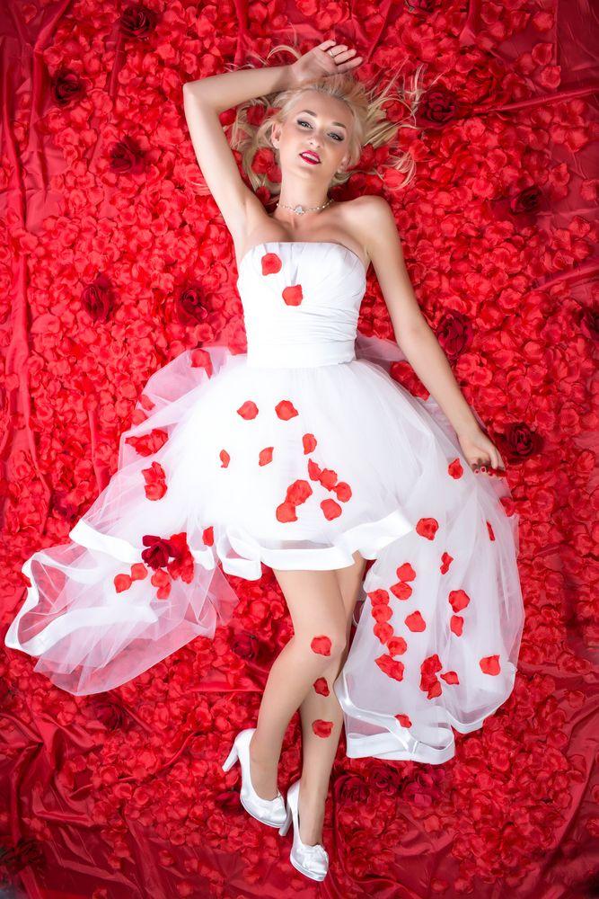 Photo in Portrait #beauty #secret #glam #portrait #sexy #woman #red #rose