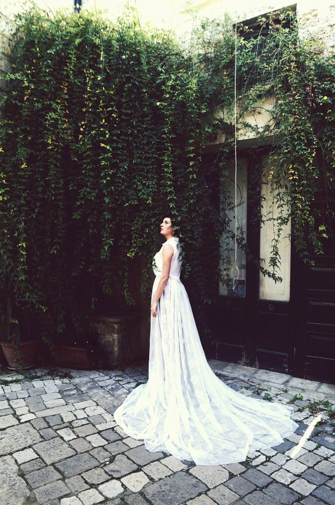 Photo in Fashion #dress #wedding #people #nature #italy