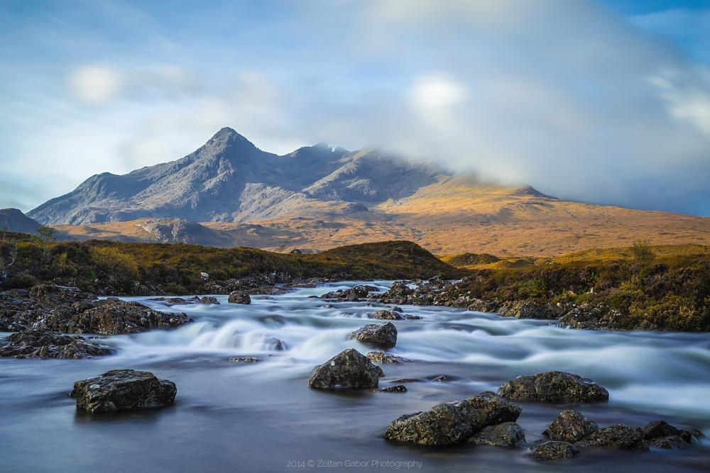 Photo in Landscape #scotland #isle of skye #sligachan #river #highlands #uk #long exposure #canon #nature #landscape