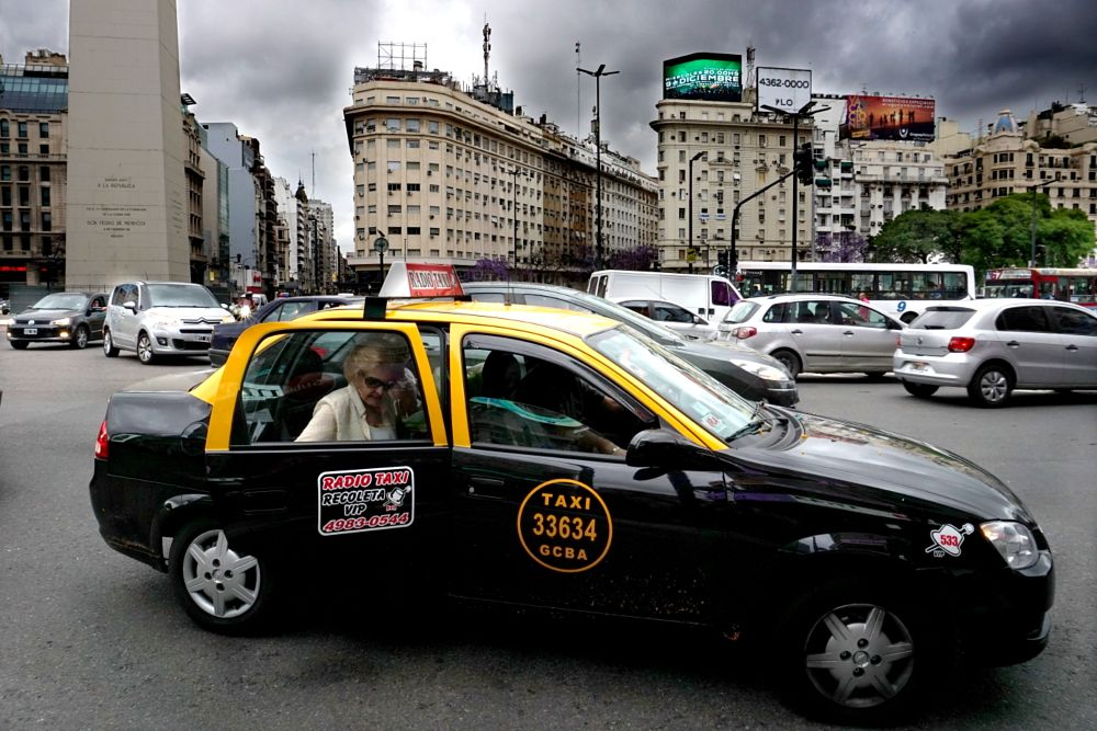 Photo in Street Photography #taxi #argentina #ciudad