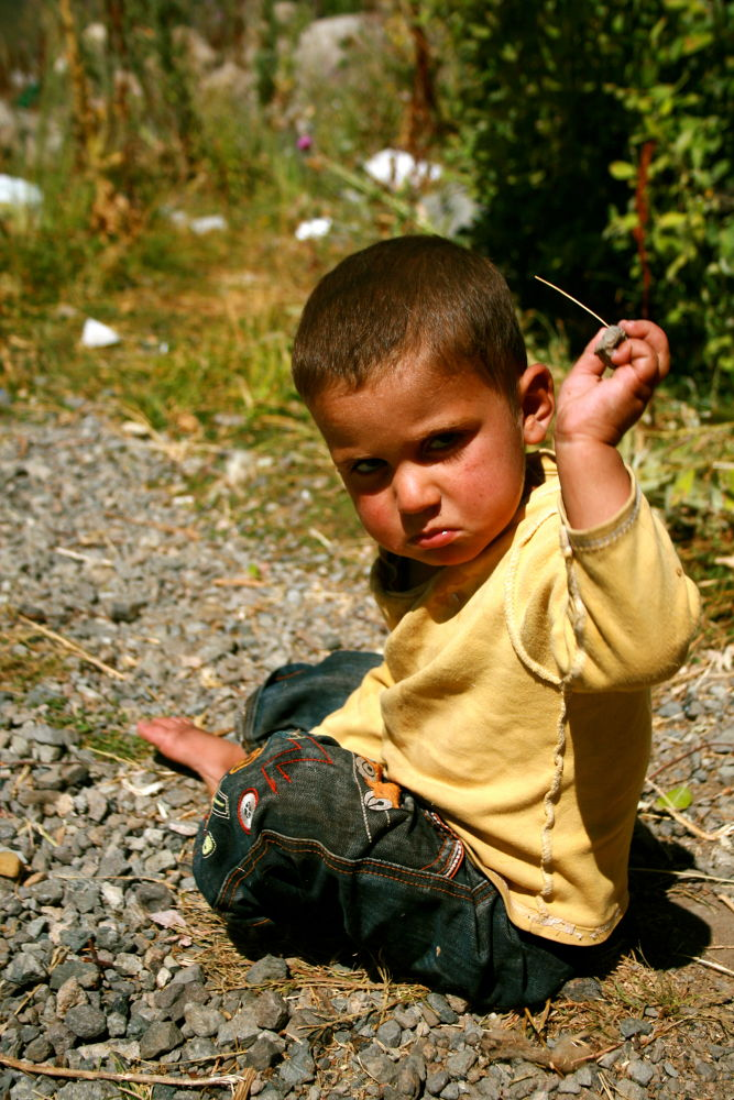 Photo in Portrait #child #kid #anger #angry #portrait #unhappy #forest #yellow #turkey #bitlis #ahlat