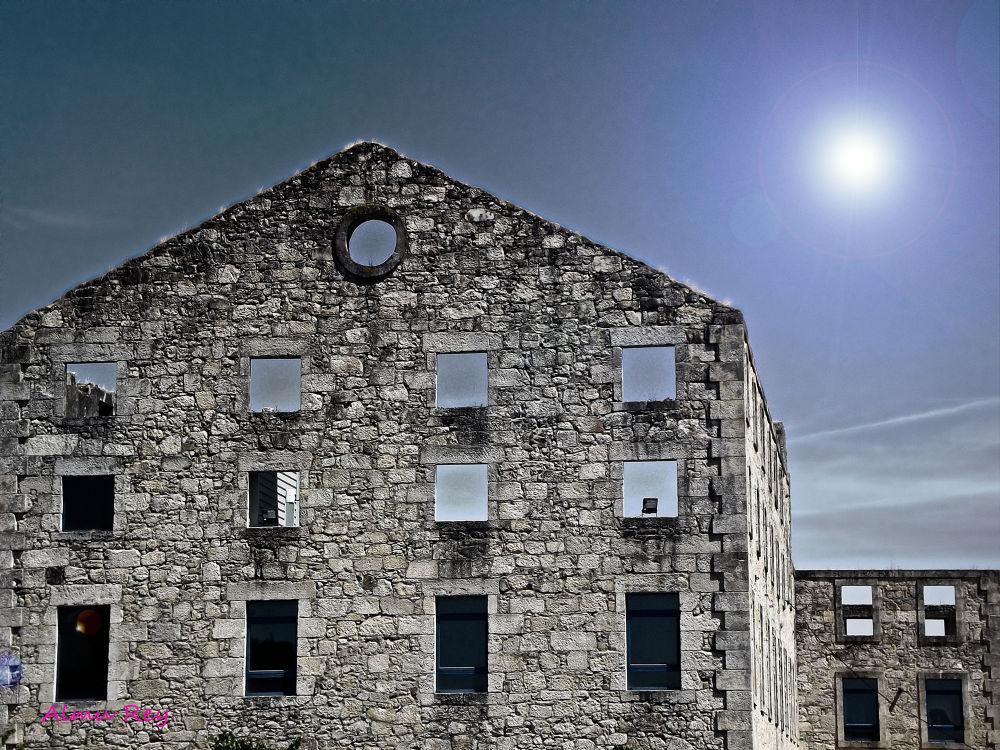 Photo in Architecture #azucarera #portas #pontevedra #estructura #almu rey