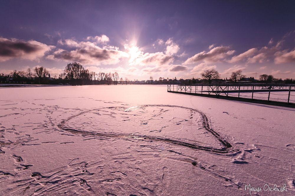 Photo in Landscape #suwałki #winter #dam