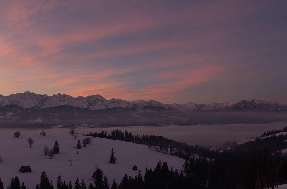 Photo in Landscape #clouds #mountain #sunrise #fog