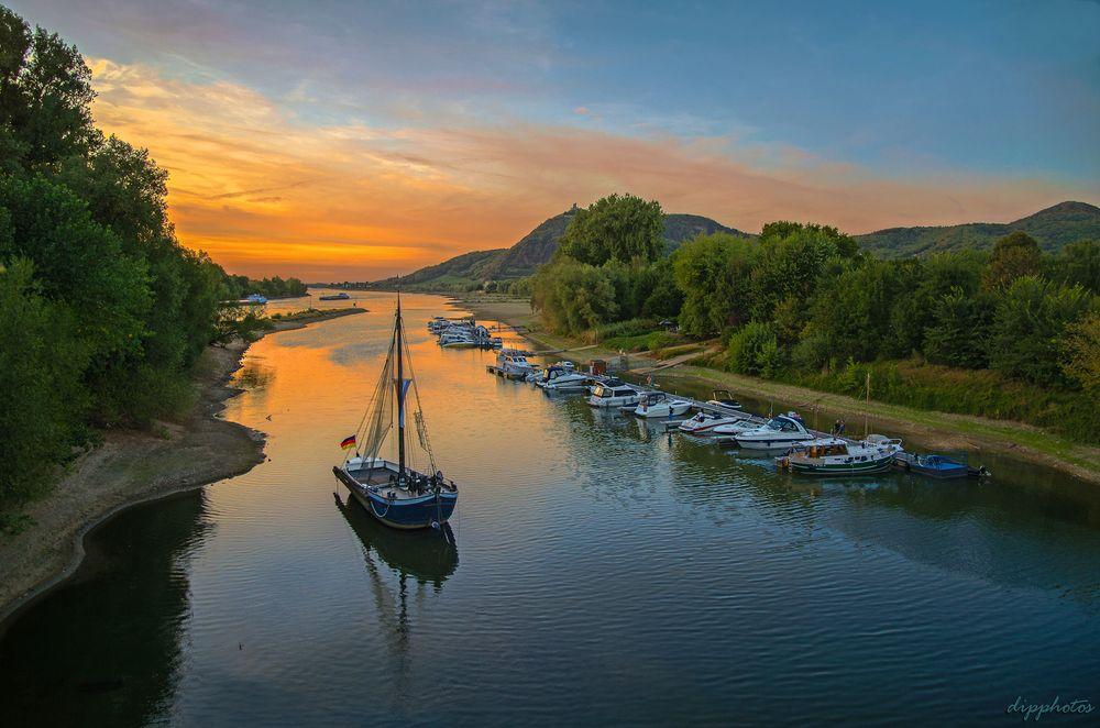 Photo in Random #rhine #river #afternoon #germany