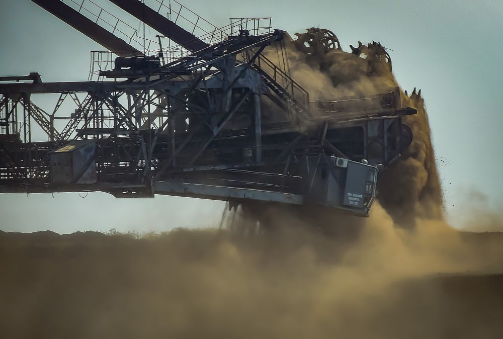 Photo in Industrial #rotary wheel #rotary #wheel #quarry #qarrer #romeo #bucket wheel excavator #rotary excavator
