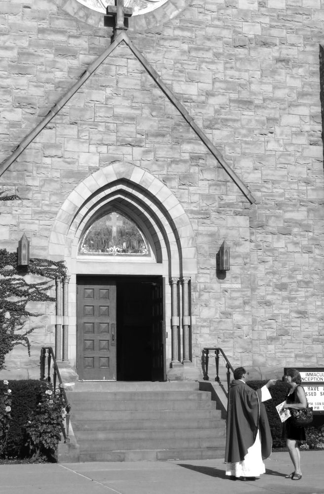 Photo in Street Photography #streetphotography #church #ithaca