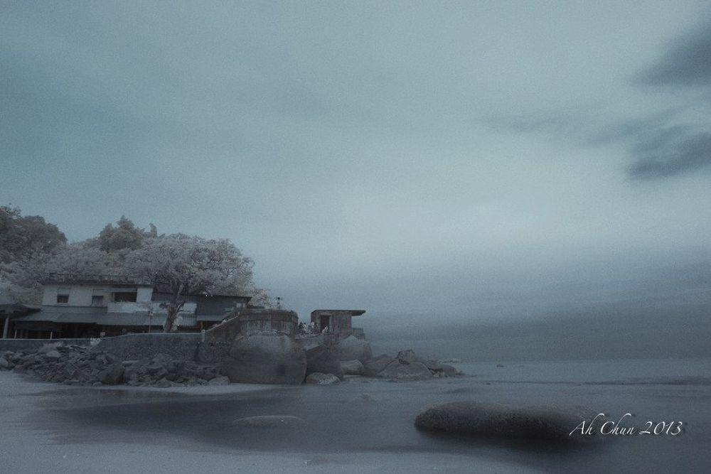 Photo in Random #infrared #beach #landscape #seascape