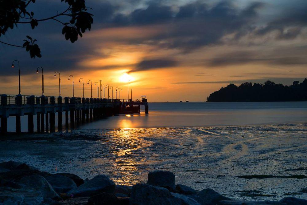 Photo in Landscape #sunrise #bridge