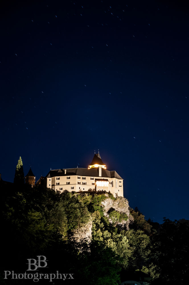 Photo in Architecture #castle #schloss #rosenburg #burg #night #bb #photo #graphyx #shot