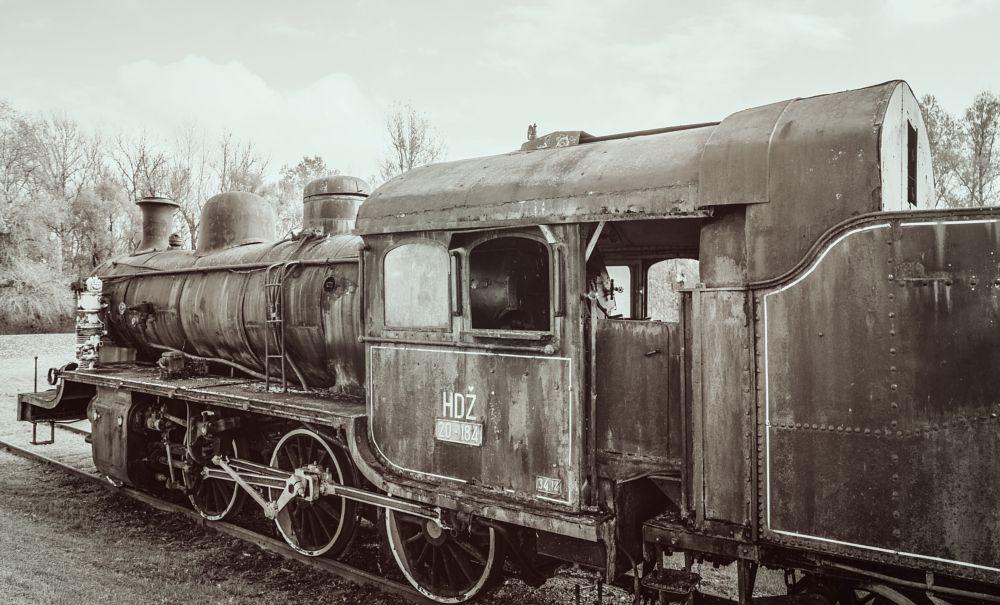 Photo in Vehicle #train #old #jasenovac #croatia