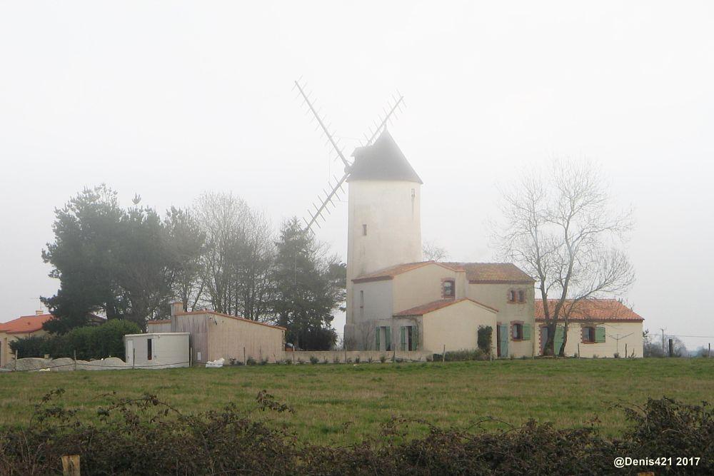 Photo in Architecture #windmill #house #architecture #canon #mist
