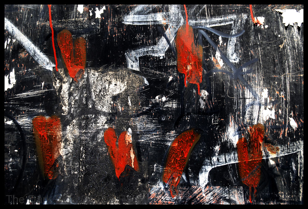 Photo in Abstract #abstract #colors #red #grey #painting #urban #abstrait #mexico