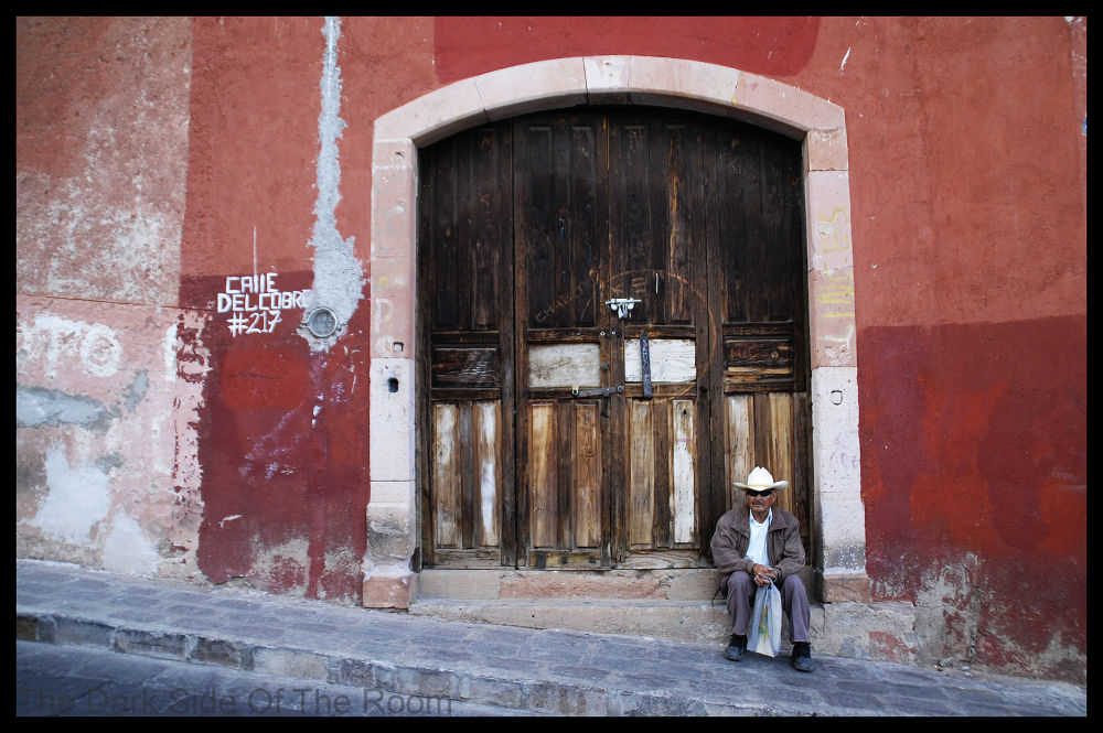 Photo in Architecture #color #people #red #house #door #mexico