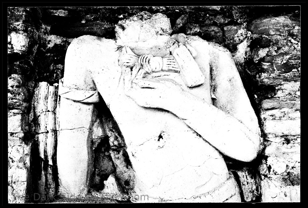 Photo in Random #low relief #black and white #mexico #maya #culture #archaeology #history #contrast #sculpture #archeologia #analogue #argentique